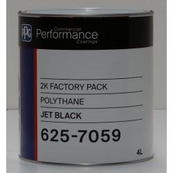 Protect 625-7059 Polythane Jet Black 4L