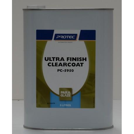 Protec 5950  P/glaze Ultra Fin Clear 5lt