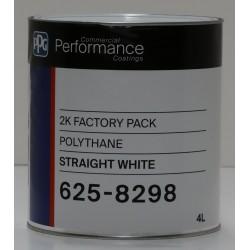 Protec 625 Polythane 2K Straight White 4lt