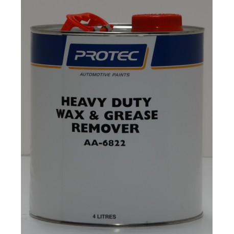 Protec AA-6822 Heavy Duty Wax & Grease Remover 4L