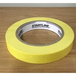 Kwikmask 9999 18mm x 50met Yellow Masking Tape (1)