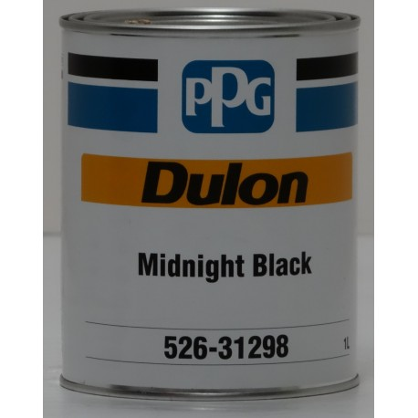 Ppg dulon midnight black 1lt automotive paint supplies for Automotive paint suppliers