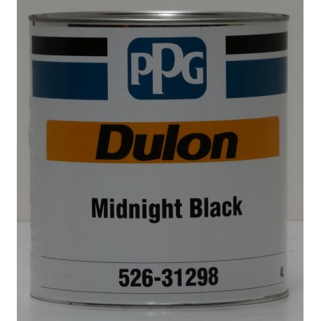 PPG Dulon Mid Night Black 4lt