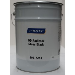 Protec 306-7213 Q/D Radiator Gloss Black 20lt