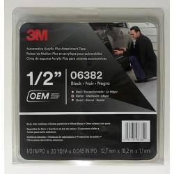 3M 6382 12mmx18.3m Acrylic Foam Tape