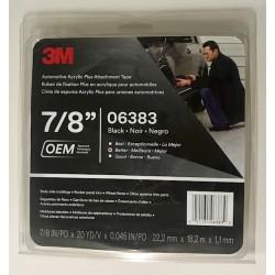 3M 6383 22.2mmx18.3m Acrylic Foam Tape
