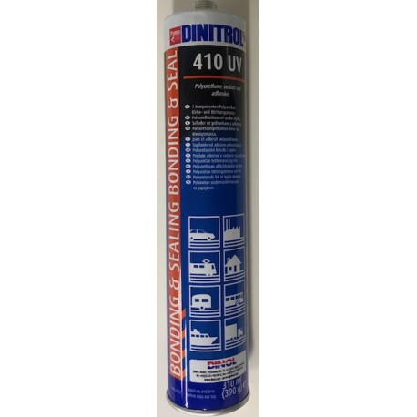 Dinitrol 410 UV White Adhesive Sealer 310ml