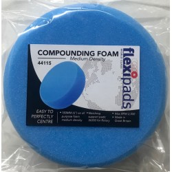 44115 Flexipad 150mm Blue Foam Pad Velcro