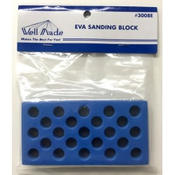 Wellmade W3008E Sanding Block Blue/Black