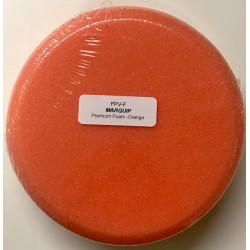 FPV-F Orange Foam Buff Pad Velcro