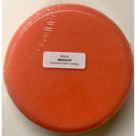 FPV-F Orange Foam Buff Pad Velcro