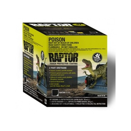 Raptor Liner Tintable 4lt kit