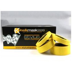 Kwikmask 9999 18mm x 50met Yellow Masking Tape (48)