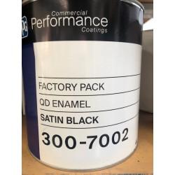 Protec 300 Quick Dry Enamel Satin Black 4L