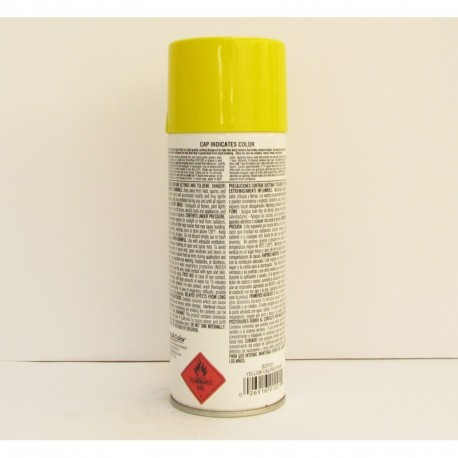 Dupli Color Engine Enamel Yellow Aerosol