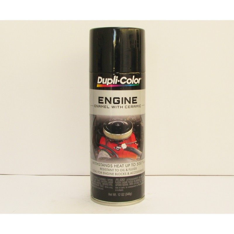 Dupli color engine enamel black aerosol automotive paint for Automotive paint suppliers