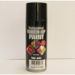 Professional Touch Up Paint Gloss Black Aerosol