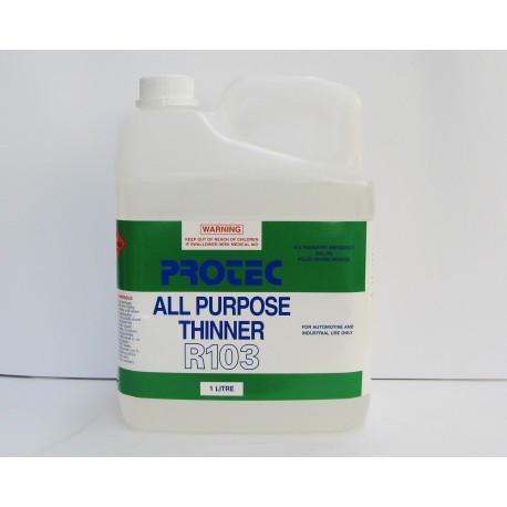 Protec All Purpose Thinners R103 1L