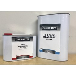 Carmaster HS 2 Pack Clearcoat Kit Fast 7.5L
