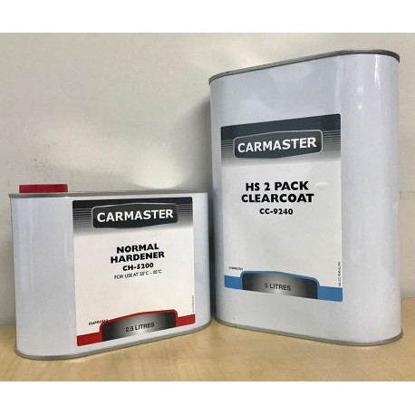 Carmaster HS 2 Pack Clearcoat Kit Normal 7.5L