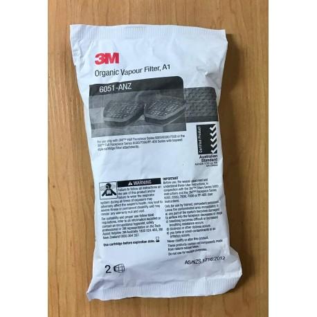 3M 6051 Organic Vapour Filter A1