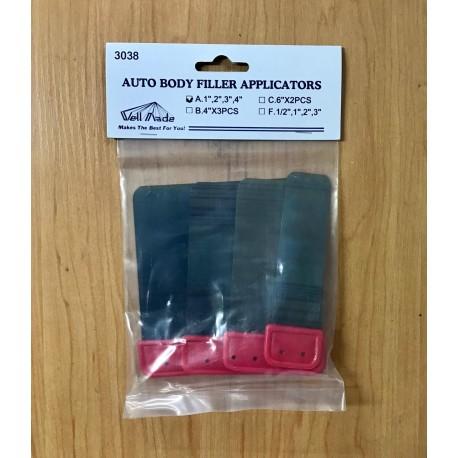 Auto Body Filler Applicators (Packet 4)
