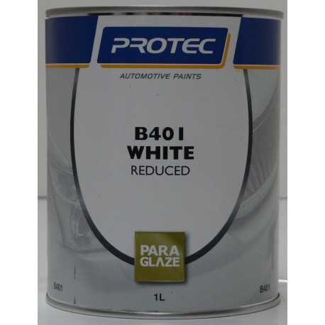 Protec Basecoat B401 Reduced White 1L
